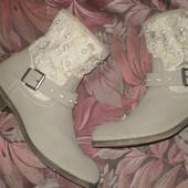 Демисезонные полусапоги, Graceland (Грейсленд) ботинки 42р. стелька 27,8 см.