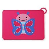 Skip Hop Силиконовый коврик подстилка для еды Бабочка zoo fold go silicone kids placemat blossom but