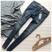 Новые мужские джинсы скинни рр М
