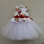 Красивые  нарядные платье в ассортименте 80-164
