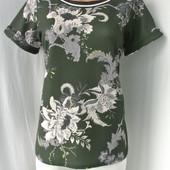 Стильный брендовый блузон Dorothy Perkins из фактурной ткани.Размер UK16.