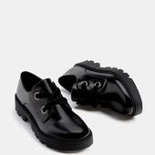 Туфли шикарные дерби bershka,р 38,новые