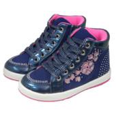 Ботинки для девочек Clibee P163 синие 25-30