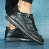 Туфли Clarks, кожаные, р. 40-45, код gavk-10644