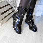 ботинки деми стильные