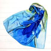 Новинка 2018 шелковые шарфы Агнесса в расцветках