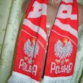 Фирменний спортивний шарф зб .Польши.