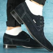 Туфли Pachini, замшевые, р. 40-45, код gavk-10600