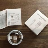 Оригинальный Lighting кабель зарядка для iPhone 5, 6, 7, 8, X, iPad,
