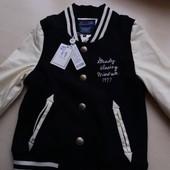 Куртка ветровка фирменная размер 134-140 см