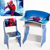 Парта растущая + стульчик, Человек - паук 1400056