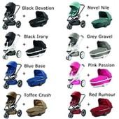 Детская универсальная коляска 2 в 1 Quinny Moodd