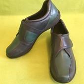 Туфли кожаные Clarks р.40, стелька 26.5см.