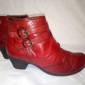 Кожаные сапоги,ботинки Gabor, 37р,стелька24см, отличное состояние