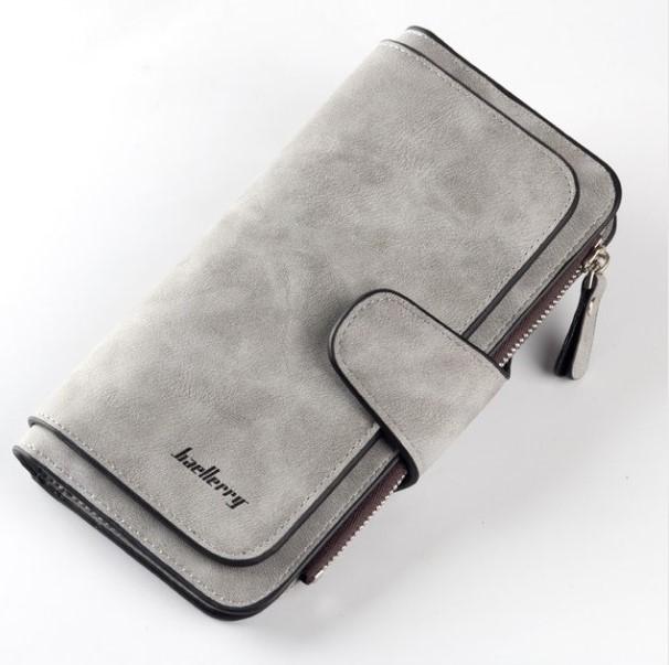 Женский портмоне baellerry forever ( gray ) фото №1