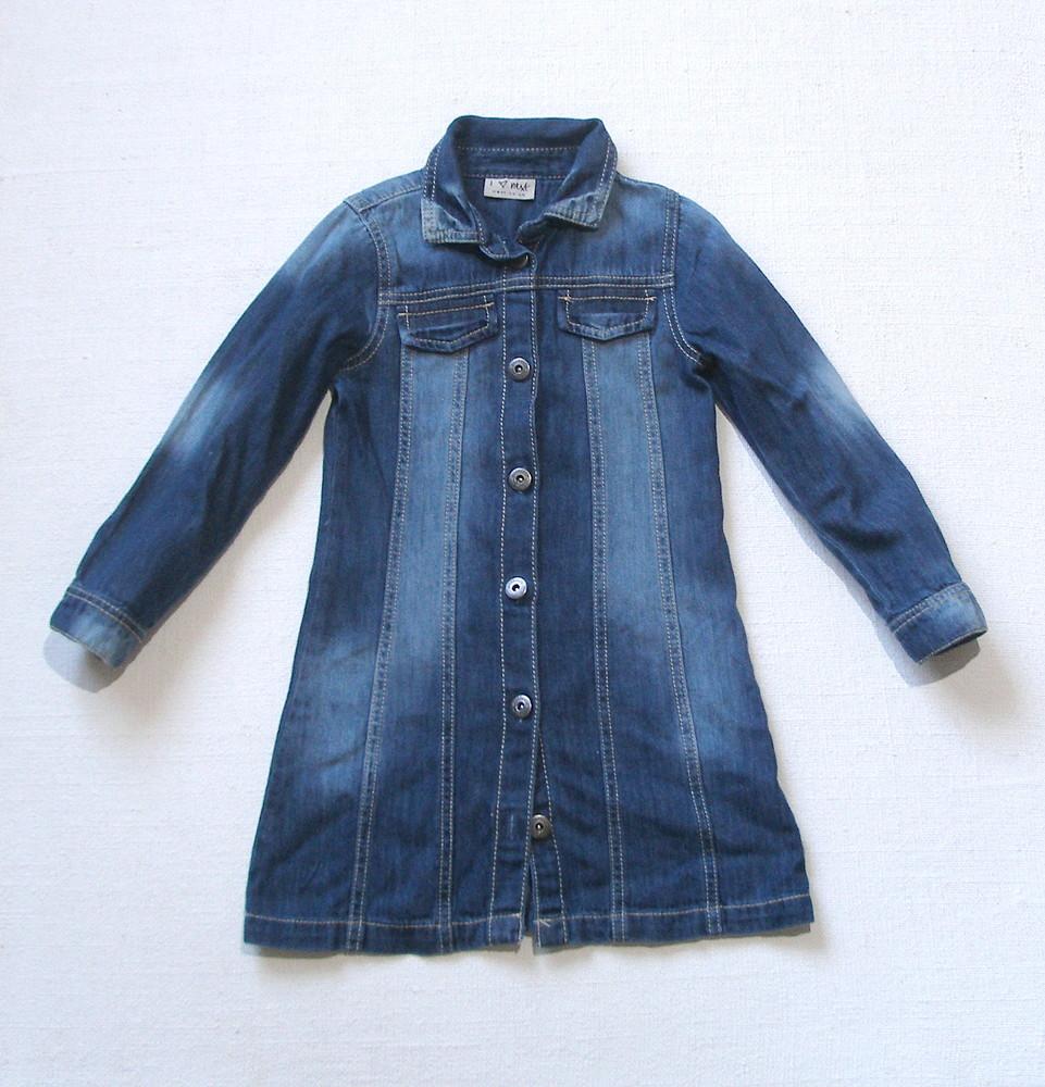 d4100e6a034 Джинсовое платье next для девочки 5 лет фото №1