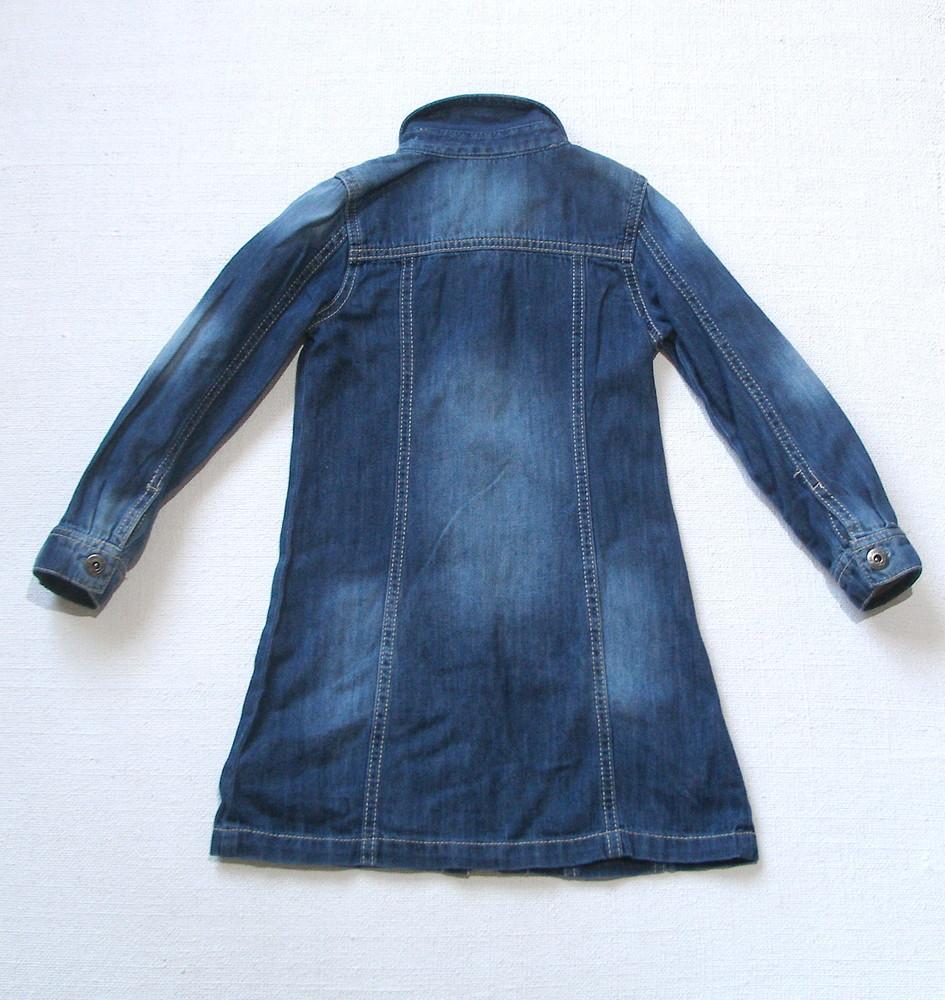 af1aafffda2 Джинсовое платье next для девочки 5 лет фото №2