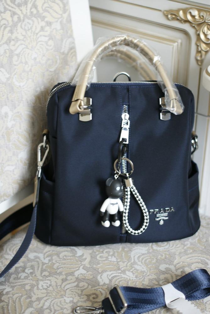 0574e21d3d38 Очень красивенная женская сумка- рюкзак prada новая с бирками в наличии  фото №1