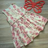 Платье в цветы Matalan (1,5-2 года)
