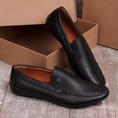 Стильные удобные мужские туфли