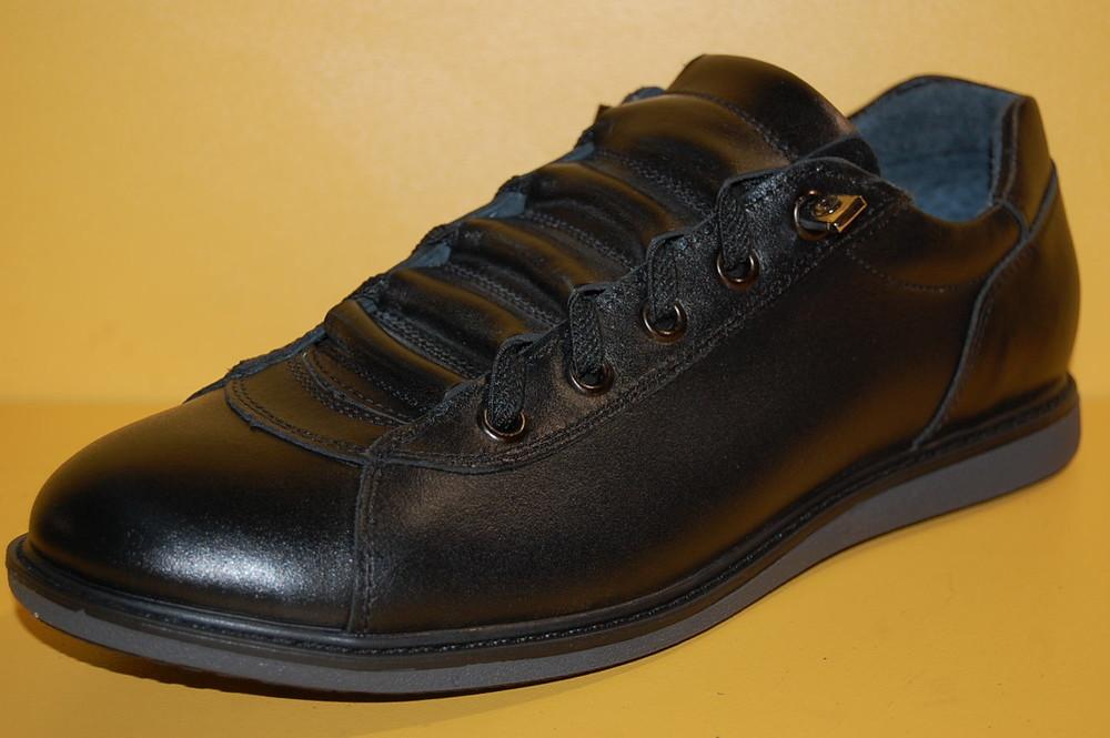 Подростковые детские кожаные кроссовки тм bistfor код 85317 размеры 36-38 фото №1
