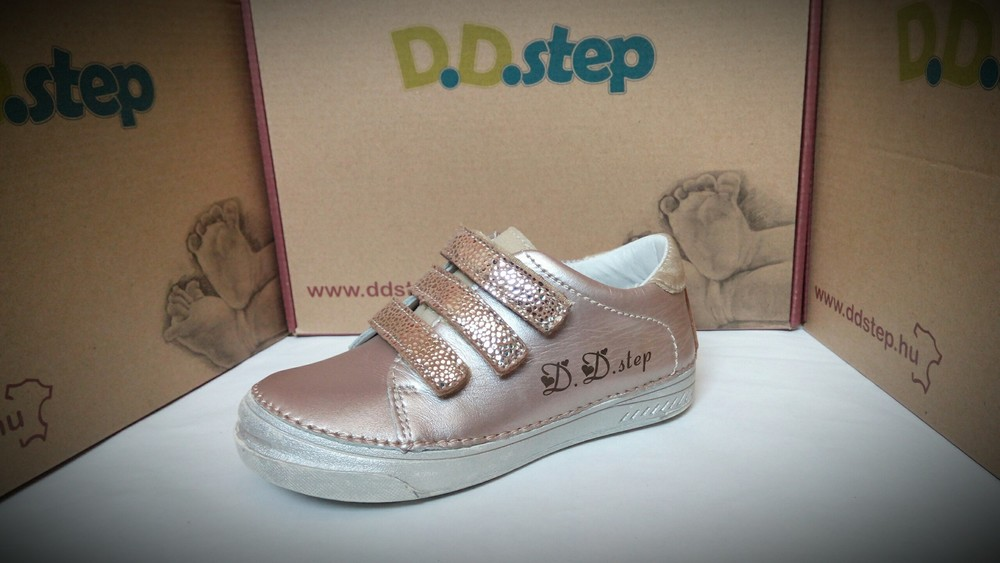 Шкіряні весняні туфлі ddstep на дівчинку - розміри 25 fb6c52896d9e3