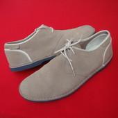 Туфли Clarks натур кожа 45-46 размер