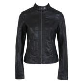 Куртка приталенного силуэта с искусственной кожи Pimkie, размер М, новая
