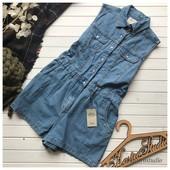 Новый джинсовый комбинезон шорты Denim Co рр Хл