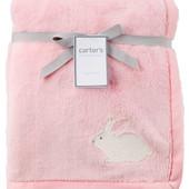 Теплый плюшевый плед Carters Зайчик bunny plush blanket