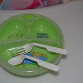 Тарелка на присоске Canpol с подогревом