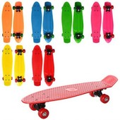 Пенни борд Penny board. Скейт MS 0847 антискол. Пластик