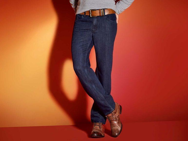 Стильные мужские термо джинсы M 50 евро Livergy Германия фото №1