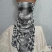 Очень красивое женское платье в клетку  Next (Некст) !!!!!!!!!!!