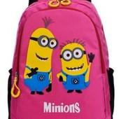 Детский, школьный рюкзак с Миньонами
