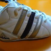 Пинетки-Кроссовки Adidas кожа 18 р.