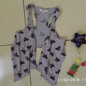 Girl2girl 11-122см жилетка накидка