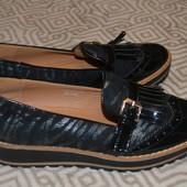 Италия  24 см дизайнерские туфли на платформе Segio Todzi 37 размер