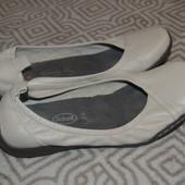 кожаные балетки туфли Scholl 24 см 37 размер Англия