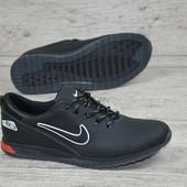 Кроссовки Nike, натур кожа, 2 цвета