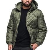 Мужская демисезонная куртка на резинке