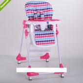 Детский стульчик для кормления Bambi M 3233-11 розовый