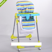 Детский стульчик для кормления Bambi M 3233-10 салатовый