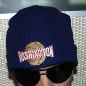 Стильная фирменная шапка шапочка Washington.м-л-хл .