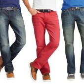 Мужские джинсы красный р.46(L,XL) Livergy Германия