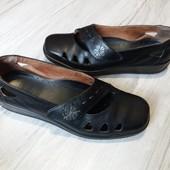 Туфли Hotter 5р. 24,5 см. Кожа