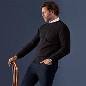 Мягкий и роскошный кашемировый джемпер нужен каждому мужчине - Tchibo, Германия