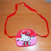 Гламурная сумочка Hello Kitty для девочки