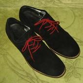 Туфли броги S.Oliver 44-45 р-р 29 см стелька, нат.замш, в прекрасном состоянии, 500 грн.