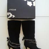 Сапоги Attizzare Италия натур замша Новая коллекция! Будьте стильными!